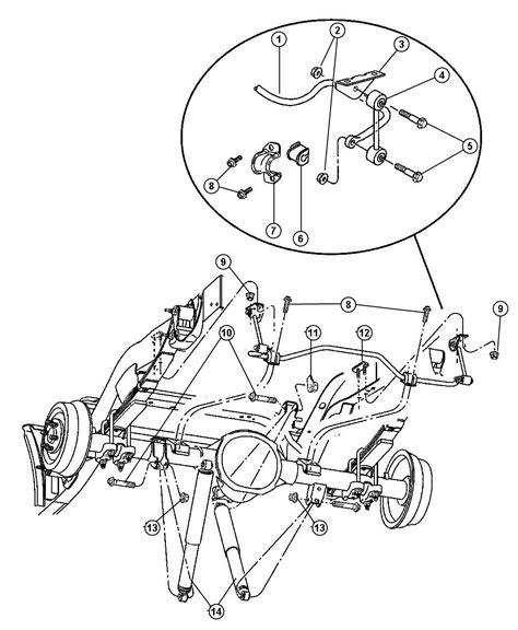 shock absorber suspension rear genuine mopar 52106927ab dodge dakota 2000 2004 ebay