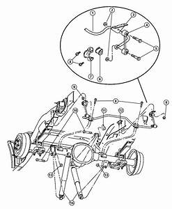 Shock Absorber Suspension Rear Genuine Mopar 52106927ab