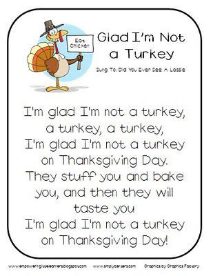 glad i m not a turkey song thanksgiving themed therapy 235 | a741b54f3fbeb7d3cb181c64c9fcaf5d
