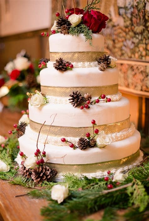 rustic red  white christmas wedding  williamsburg