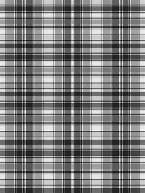 grayscale black  white check fabric texture seamless