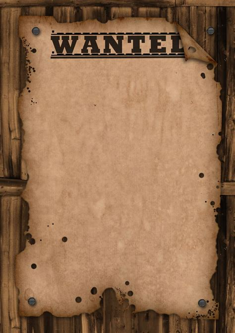 wanted poster template wanted template  maxemilliam