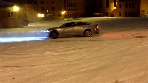 Fun in the snow! 2014 Dodge Charger RT AWD   YouTube