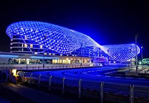 worlds largest led project completed in abu dhabi With outdoor led lighting for hotels