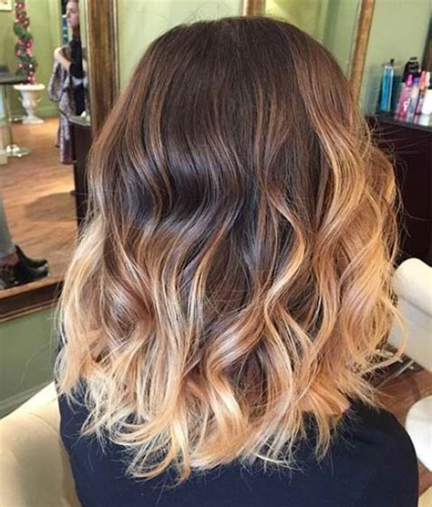 balayage hair color ideas  blonde highlights