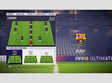FIFA 18 FC Barcelona review Best Risky formation, Best