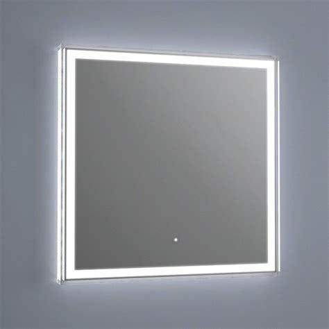 miroir lumineux led salle de bain antibu 233 e 60x60 cm