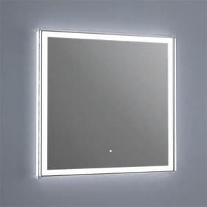 Miroir Salle De Bain Lumineux : miroir lumineux led salle de bain antibu e 60x60 cm ~ Melissatoandfro.com Idées de Décoration