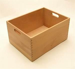 Beistelltisch 40 X 40 : holzkiste holzbox aus buche lackiert 40 x 30 x 21 cm wohn accessoires holzkisten holzboxen ~ Bigdaddyawards.com Haus und Dekorationen