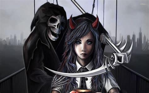 Dark Grim Reaper Hd Wallpaper Background Image 1920x1200