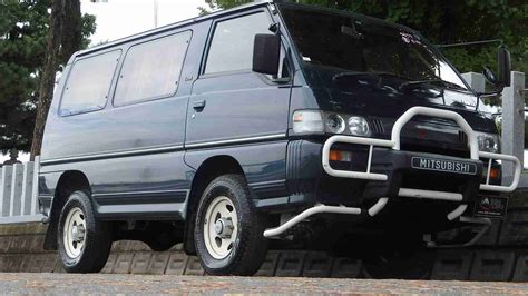 mitsubishi delica mitsubishi delica star wagon diesel for sale in japan at
