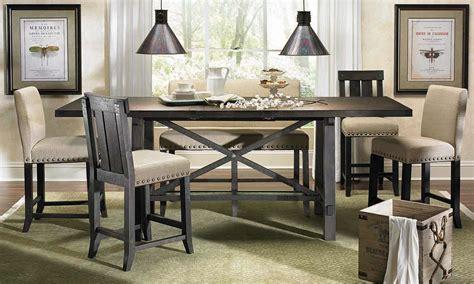 Haynes Furniture. Yosemite Counter Height Dining Set