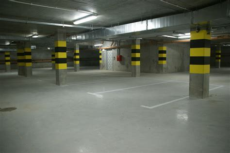 Underground parking lot Flooring   Bautech