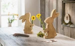 Tischdeko Mit Holz : deko hasen mit vase holz 2er set osterdeko tischdeko tisch holzhasen ostern vase eur 9 90 ~ Eleganceandgraceweddings.com Haus und Dekorationen