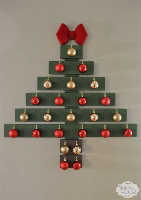 creative wall christmas tree designs   diy