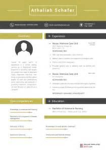 2017 Sample Resume Templates