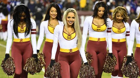 cheerleaders redskins washington topless cheerleading nfl shoot trip squad required conduct ksdk sponsors say front personal sports today foul policy