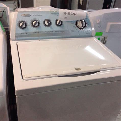 no lava mi lavadora whirlpool professional care yoreparo