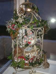 winter bird cage decoration i it
