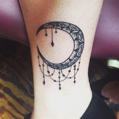 crescent moon tattoo  tumblr