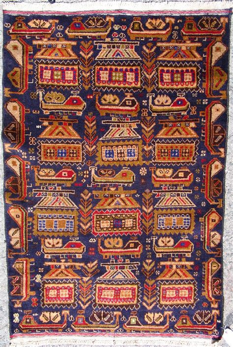 Tappeti Afgani by Afghan War Rug With Obvious Weapons Tappeti Afgani