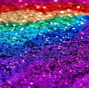 rainbow glitter on Tumblr