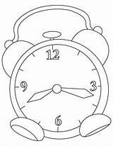 Coloring Clock Alarm Grandfather Pages Myers Michael Printable Getcolorings sketch template