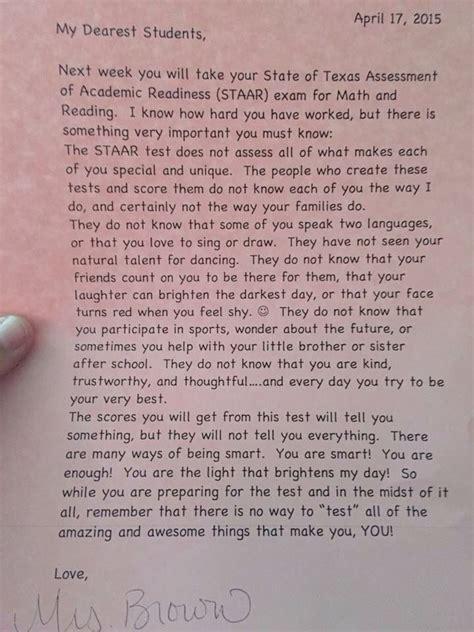 encouraging letter  students letter  students dear