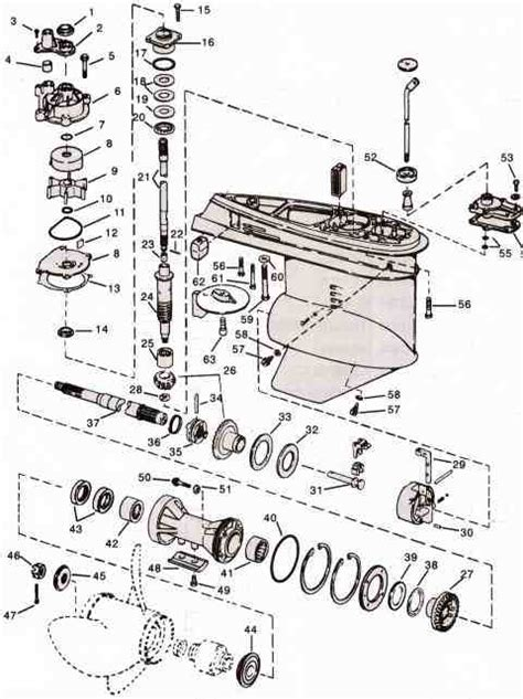 Boat Parts Johnson motor parts johnson outboard motor parts