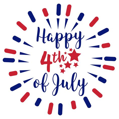Free Fourth Of July Svg Cut Files, Happy 4th Of July Svg