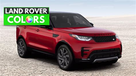 sport colors 2017 range rover discovery colors