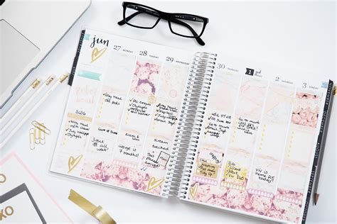 Erin Condren Life Planner  Beauty And The Chic