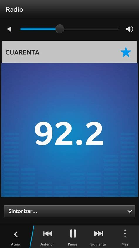 radio fm en blackberry z30
