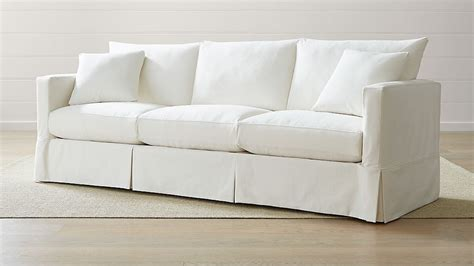 willow  grande modern slipcovered sofa reviews