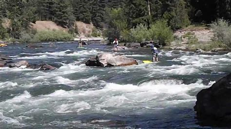 Stand Up Paddling Thibideau Rapids On Montana's Blackfoot