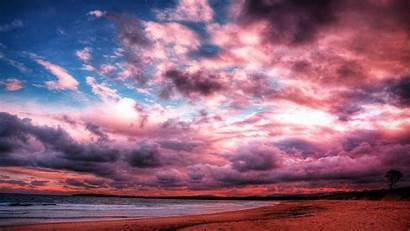 Clouds Pink Wallpapers Android
