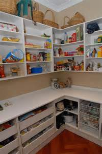 kitchen walk in pantry ideas dazzling walk in kitchen pantry designs with l shaped pantry shelves and white laminate