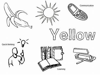 Coloring Sheets Colors Yellow Pagan Printable