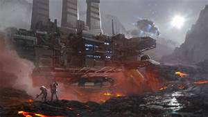 sci fi mine art concepts - Поиск в Google | Pits ...