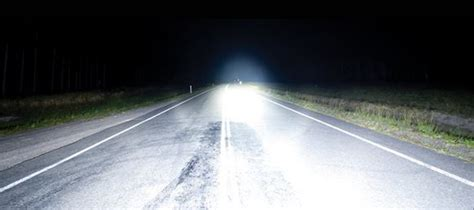 led light bars increase safety road
