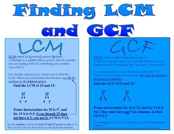All Worksheets » Gcf And Lcm Worksheets  Printable Worksheets Guide For Children And Parents