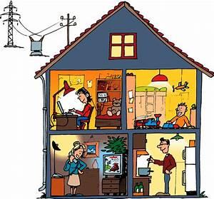 Poweron lelectricite a la maison for Electricite dans la maison