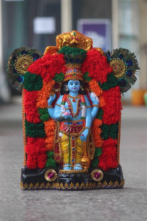 buy beautiful guruvayurappan idol  fibre guruvayurappan