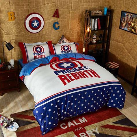 7080 marvel size bedding marvel captain america civil war bedding set