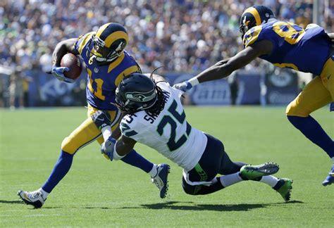 rams beat seahawks   anticipated return  los
