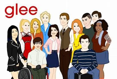 Glee Cast Clipart Deviantart Clip Cliparts Character