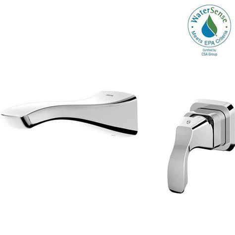 Delta Wall Mount Kitchen Faucet by Delta Tesla Single Handle Wall Mount Bathroom Faucet Trim