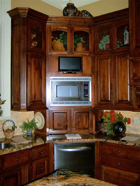 places  kitchen  shelf  microwave bonito designs