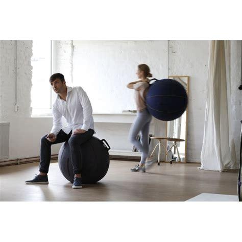 siege ballon vluv velt siege ballon pouf gymball pour salon bureau