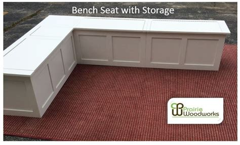 Banquette-corner Bench Seat With Storage